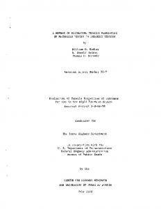 A Method of Estimating Tensile Properties of Materials Tested in ...