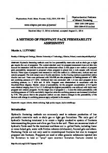 A method of proppant pack permeability assessment