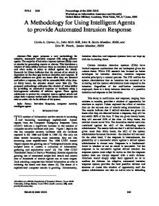 A Methodology for Using Intelligent Agents to provide Automated ...