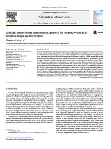 A mixed-integer linear programming approach for ...