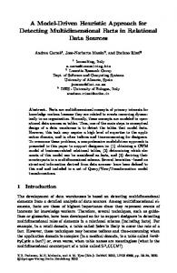 A Model-Driven Heuristic Approach for Detecting ... - Springer Link