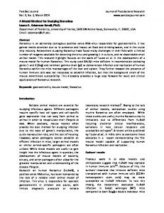 A Model Method for Studying Norovirus Laura A ...