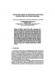 A Multi-Sensor System for Mobile Services with Vision Enhanced ...