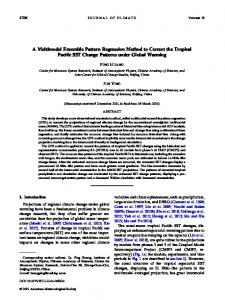 A Multimodel Ensemble Pattern Regression Method to Correct the ...