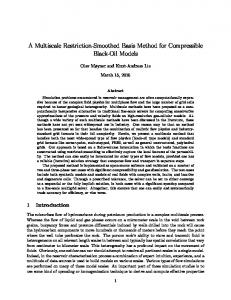 A Multiscale Restriction-Smoothed Basis Method for Compressible ...