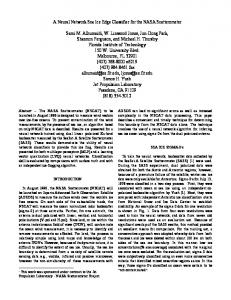 A Neural Network Sea Ice Edge Classifier for the ...