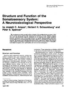 A Neurotoxicological Perspective - CDC stacks