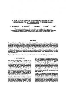 a new algorithm for generating quadrilateral meshes and its ...