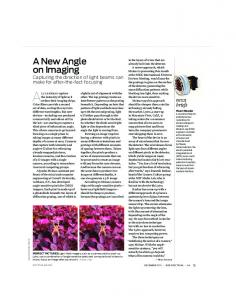 A New Angle on Imaging - IEEE Xplore