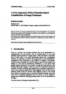 A New Approach of Face Detection-based Classification of Image ...