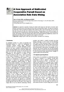 A New Approach of Multi-robot Cooperative ... - Semantic Scholar