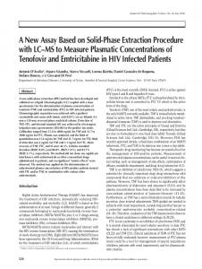 A New Assay Based on Solid-Phase Extraction ...