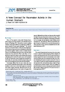 A New Concept for Pacemaker Activity in the ... - Semantic Scholar