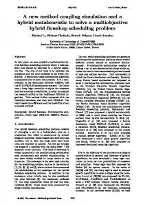 A new method coupling simulation and a hybrid ... - Semantic Scholar