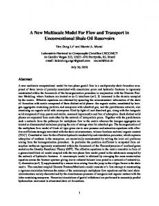 A New Multiscale Model For Flow and Transport in ...