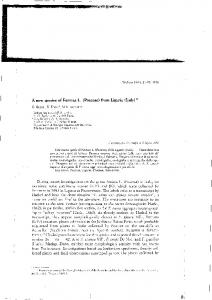 A new species of Festuca L. (Poaceae) from Liguria ...