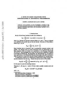 A note on Farey fractions with denominators in arithmetic progressions