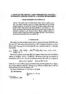 A NOTE ON THE CENTRAL LIMIT THEOREM FOR ... - CEREMADE