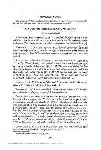 A note on unicellular operators