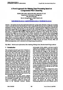 A Novel Approach for Missing Data Processing based on ...