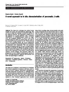 A novel approach to in situ characterization of ... - Springer Link