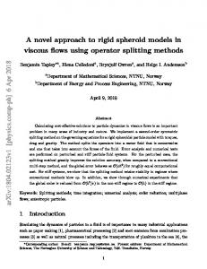 A novel approach to rigid spheroid models in viscous flows