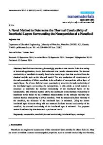 A Novel Method to Determine the Thermal Conductivity of ... - MDPI