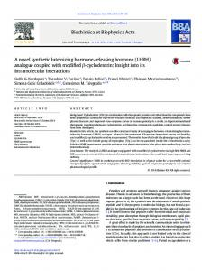 A novel synthetic luteinizing hormone-releasing hormone (LHRH ...
