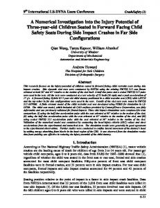 A Numerical Investigation into the Injury Potential of Three ... - DYNAlook