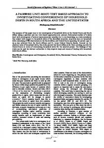 A pairwise unit-root-test based approach to ... - Virtus Interpress