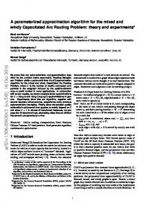 A parameterized approximation algorithm for the