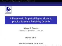 A Parametric Empirical Bayes Model to predict