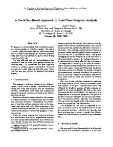 A Petri-Net-Based Approach to Real-Time ... - Semantic Scholar