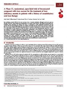 A Phase III, randomized, openlabel trial of ... - Wiley Online Library