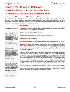 A Placebo-Controlled Randomized Trial - PLOS