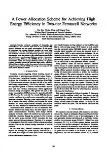A Power Allocation Scheme for Achieving High Energy ... - IEEE Xplore