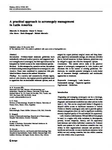 A practical approach to acromegaly management in ... - Springer Link