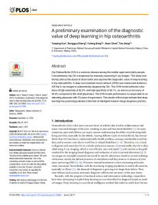 A preliminary examination of the diagnostic value ... - Semantic Scholar