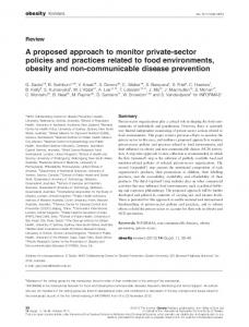 A proposed approach to monitor privatesector ... - Wiley Online Library