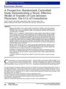 A Prospective, Randomized, Controlled Study ... - Wiley Online Library
