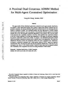 A Proximal Dual Consensus ADMM Method for Multi-Agent ...