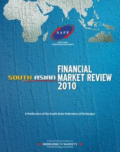 A Publication of the South Asian Federation of ...