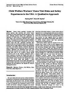 A Qualitative Approach - Horizon Research Publishing