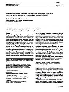 a randomized controlled trial - BioMedSearch