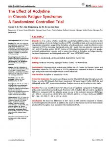 A Randomized Controlled Trial - PLOS
