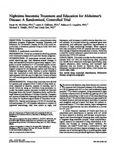A Randomized, Controlled Trial - Wiley Online Library