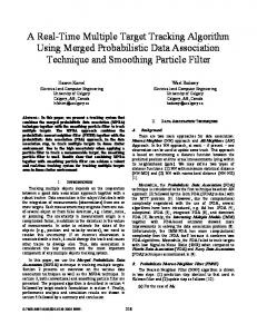 A Real-Time Multiple Target Tracking Algorithm Using ... - IEEE Xplore