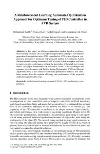A Reinforcement Learning Automata Optimization Approach for ...
