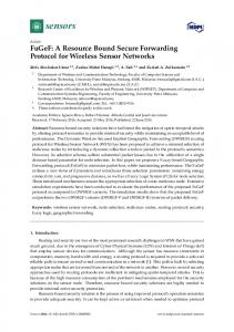 A Resource Bound Secure Forwarding Protocol for
