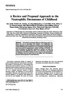 A Review and Proposed Approach to the ... - Wiley Online Library